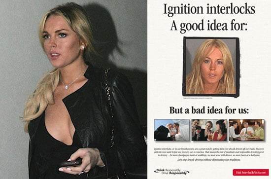 Lindsay Lohan Wants Drunk Cougars Off the Roads