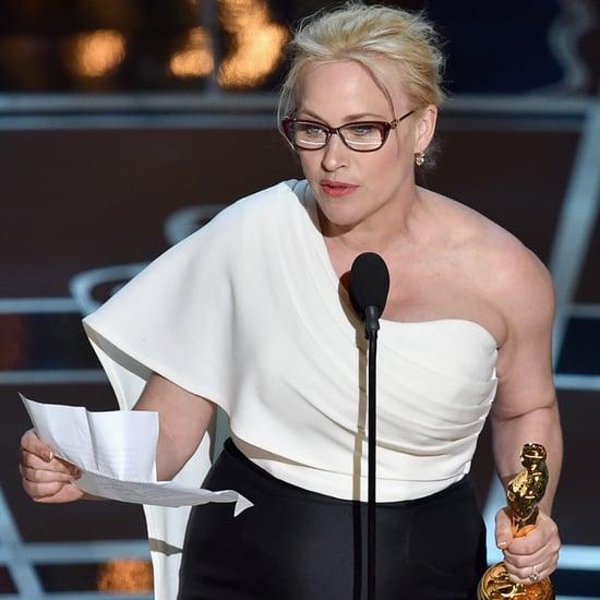 Patricia Arquette's Oscar Acceptance Speech   Video