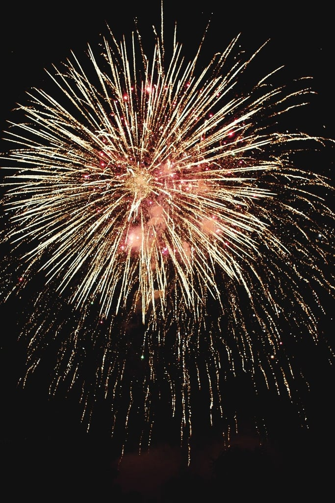 A Thai big day got a big bang of fireworks to top it off.