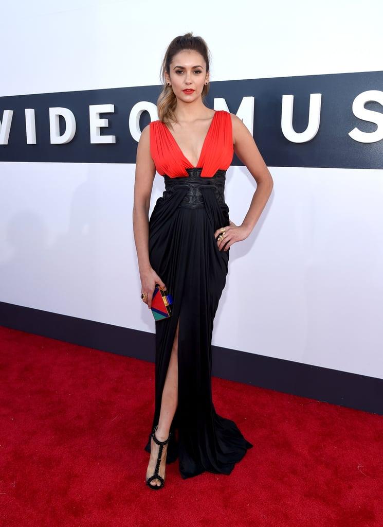 Nina Dobrev Takes a Cue From The Vampire Diaries at the VMAs