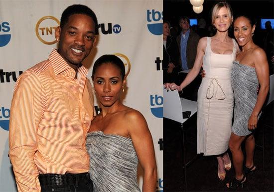 Photos of Will Smith, Jada Pinkett Smith at Turner Upfronts, Will's Company Produces Katrina Movie