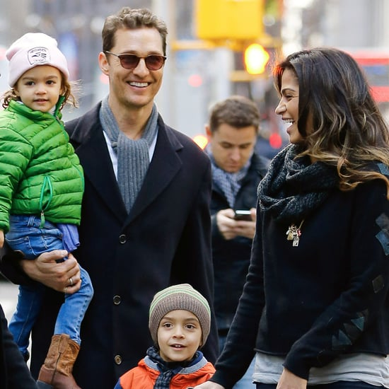 McConaughey Family Pictures in NYC