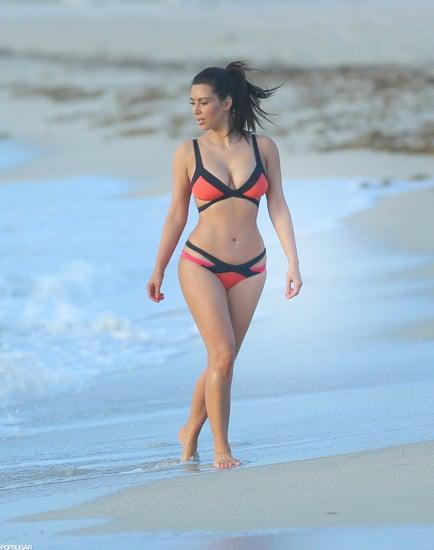 She-wore-colorful-Agent-Provocateur-bikini-Miami-Beach-July