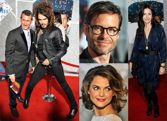 Photos From The US Premiere Of Bedtime Stories Including Russell Brand, Guy Pearce, Courteney Cox, Keri Russell, Teresa Palmer.