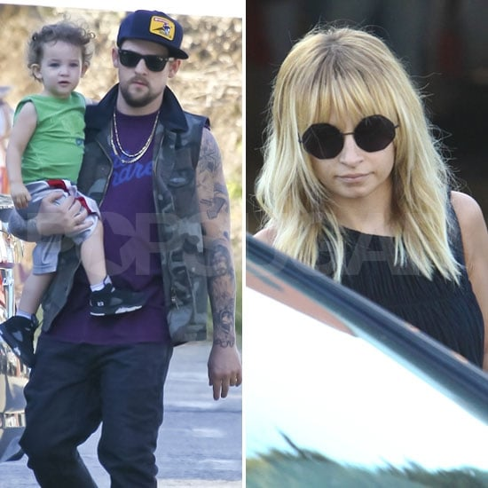 Nicole Richie and Joel Madden Hit the Patch With Sparrow and Harlow