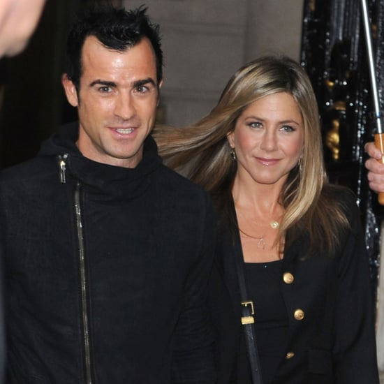 Jennifer Aniston and Justin Theroux Dinner Paris Pictures