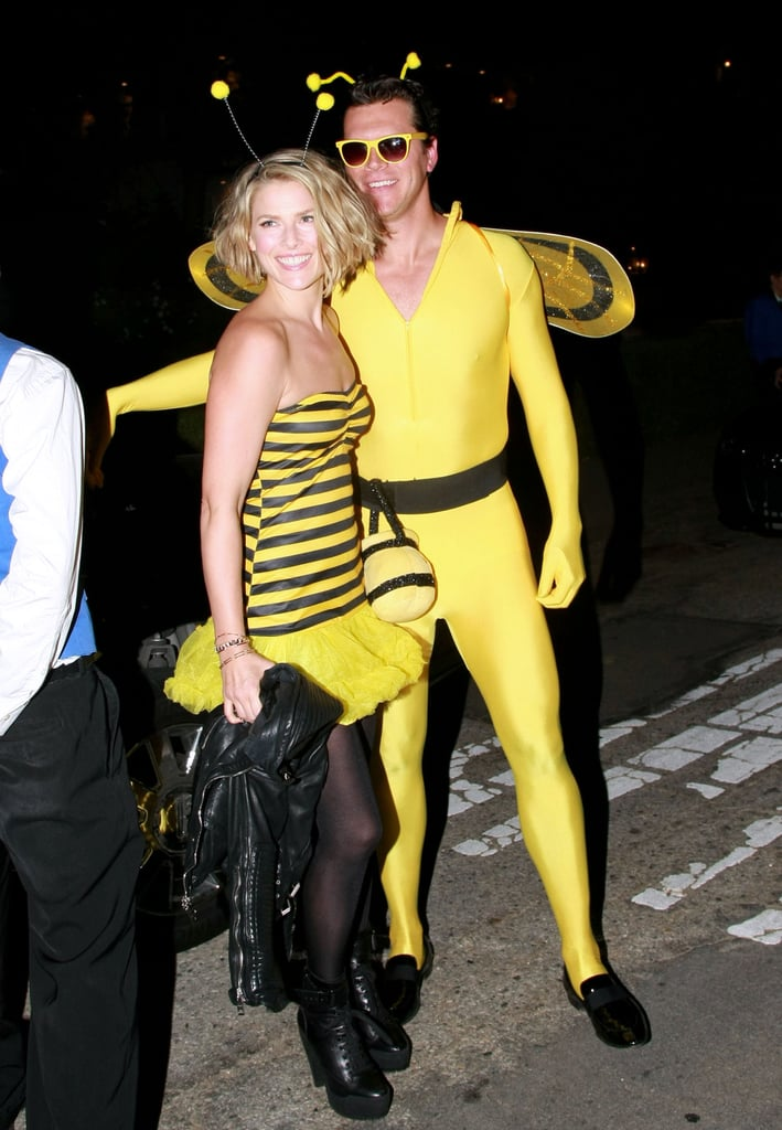 Ali Larter and her honey stepped out in coordinating bee costumes in 2011.