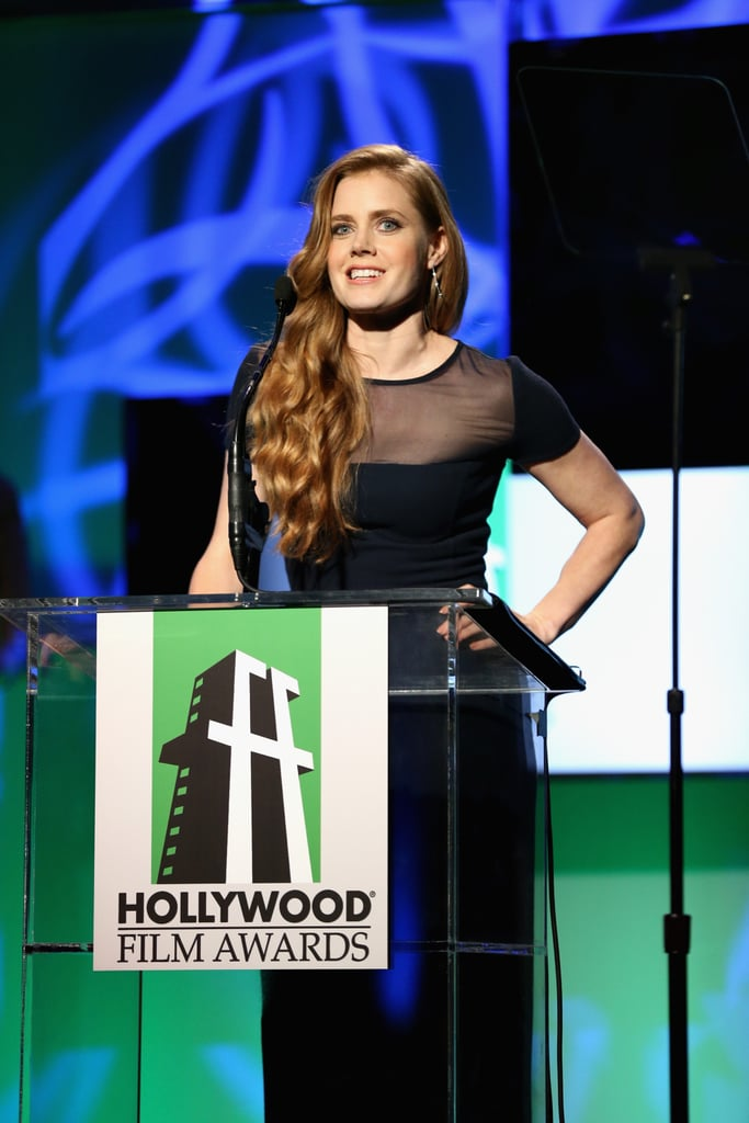Amy Adams stepped out for the gala in Los Angeles.