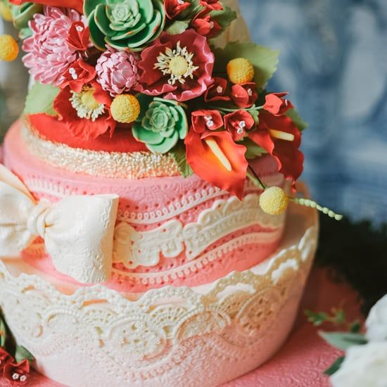 Lacy Wedding Cake Pictures