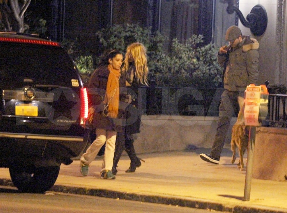 Blake Lively and Ryan Reynolds together in Boston.