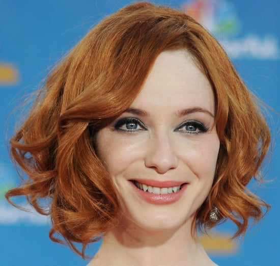 Christina Hendricks Emmys 2010 Makeup Look 2010-08-29 19:47:37
