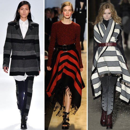 Trends From Fall 2012 New York Fashion Week: Blanket Stripes, as seen at Rag & Bone, Michael Kors and more