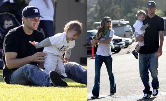 Photos of Tom Brady, Pregnant Gisele Bundchen, John Moynahan