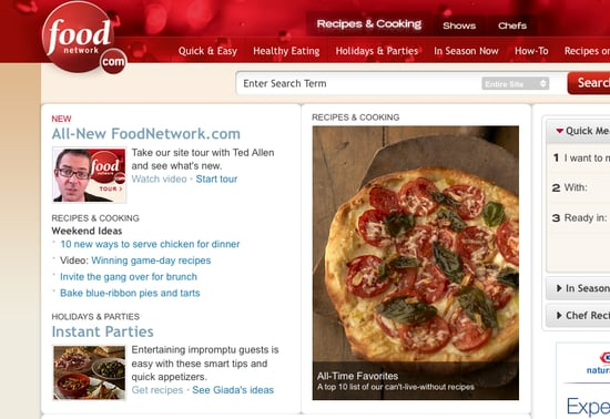 Food Network's Online Makeover: Love It or Hate It?