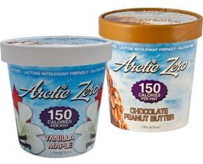 Arctic Zero Ice Cream — No Fat Low Calorie Ice Cream