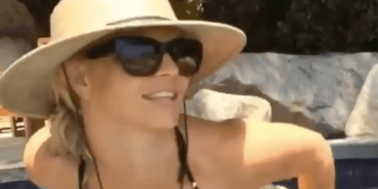Britney Spears Wears A Big Hat And Tiny Bikini To Soak Up The Sun