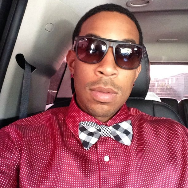 Ludacris was all pressed up in a black-and-white bow tie while en route to the red carpet premiere of Fast & Furious 6.  Source: Instagram user itsludacris
