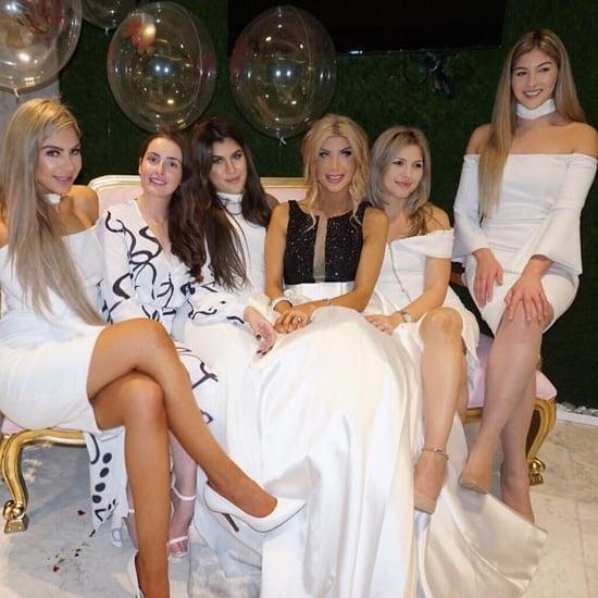 Khadijeh Mehajer's Bridal Shower Dresses