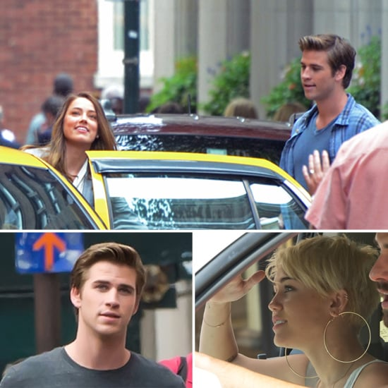 Liam Hemsworth Films With Amber Heard While Miley Hangs in Philly