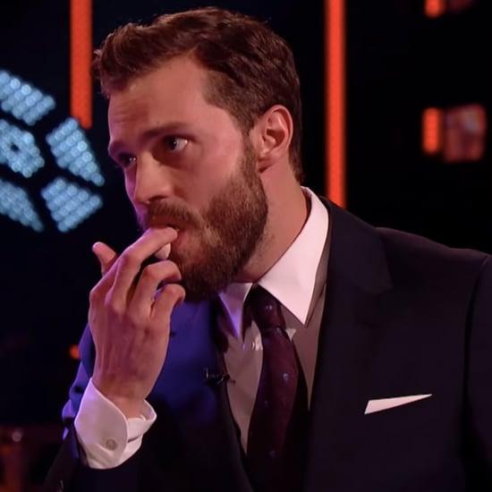 Jamie Dornan Eats Christian Grey Cake | Video