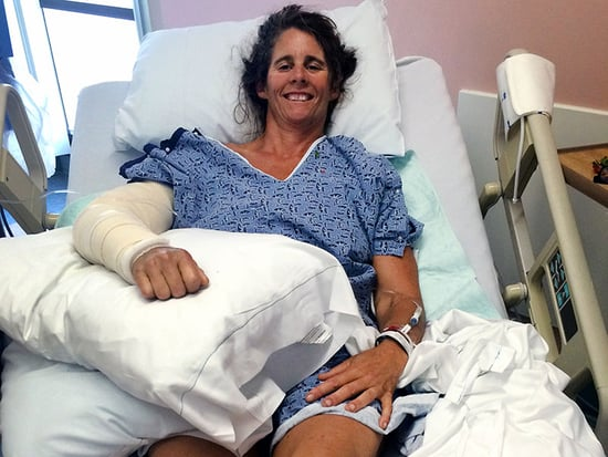 California Shark Attack Victim Seen Smiling Through Recovery in Hospital Bed Photo