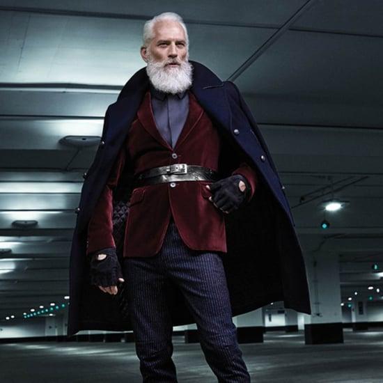 Fashion Santa Gives Santa Claus Sexy Makeover