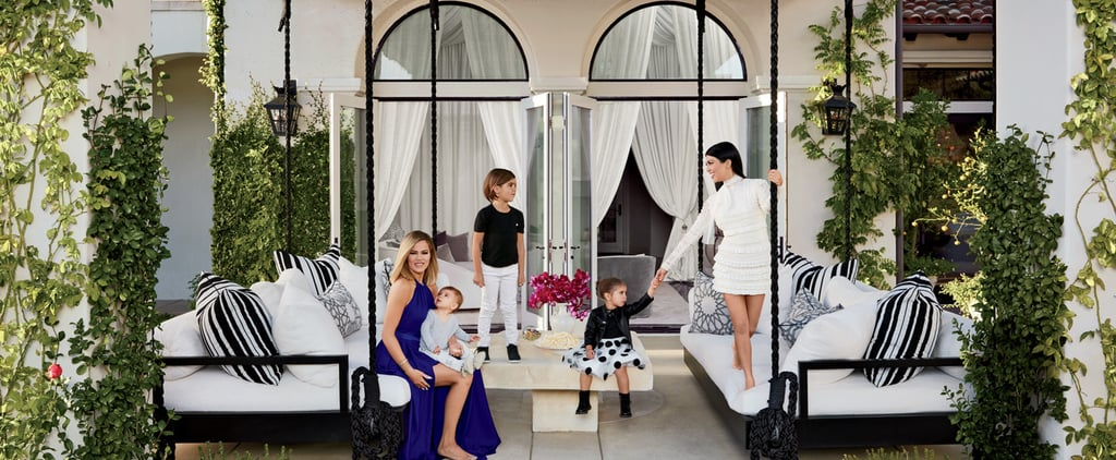 You've Never Seen Khloé and Kourtney Kardashian at Home Like This