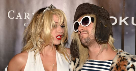 Mark Ballas And Girlfriend Dress Up As Kurt Cobain And Courtney Love For Maxim's Halloween Bash