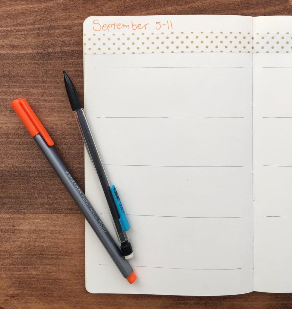 how to start bullet journalling