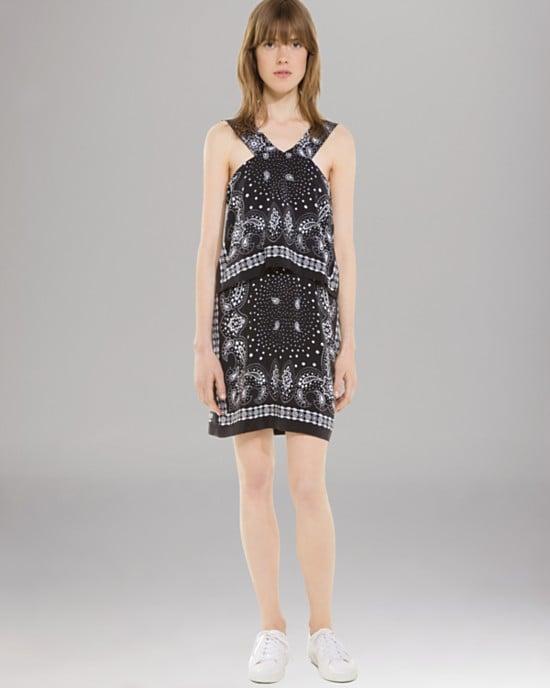 Sandro silk print dress ($255, originally $510)