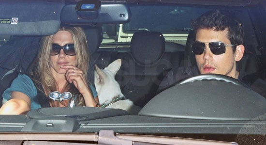 Photos of Jennifer Aniston and John Mayer Leaving the Beverly Hills Hotel