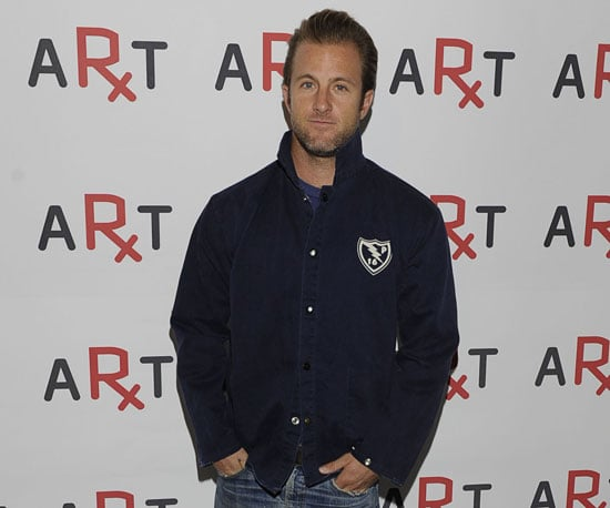 Slide Picture of Scott Caan at the 2010 RxART Party in NYC