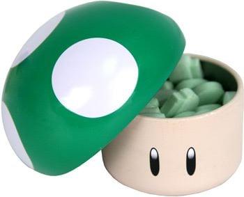 Edible Geek: Nintendo Mushroom Sours