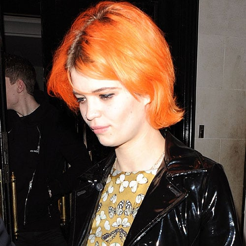 Pixie Geldof Dyes Her Hair Orange