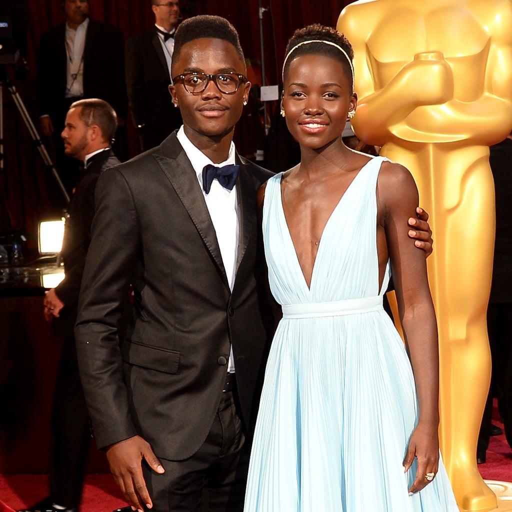 Lupita Nyong'o and Her Brother Peter Nyong'o