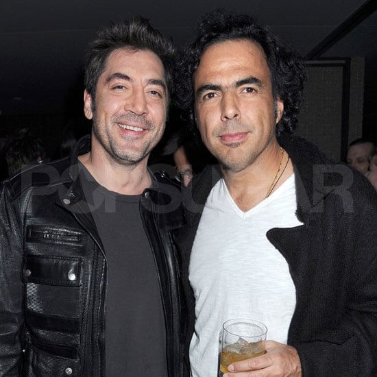 Pictures of Javier Bardem and Alejandro Gonzalez Inarritu at a Bash For Winter's Bone