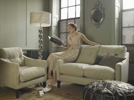 Crave Worthy: Jamie Two-Seat Button-Back Dream Sofa