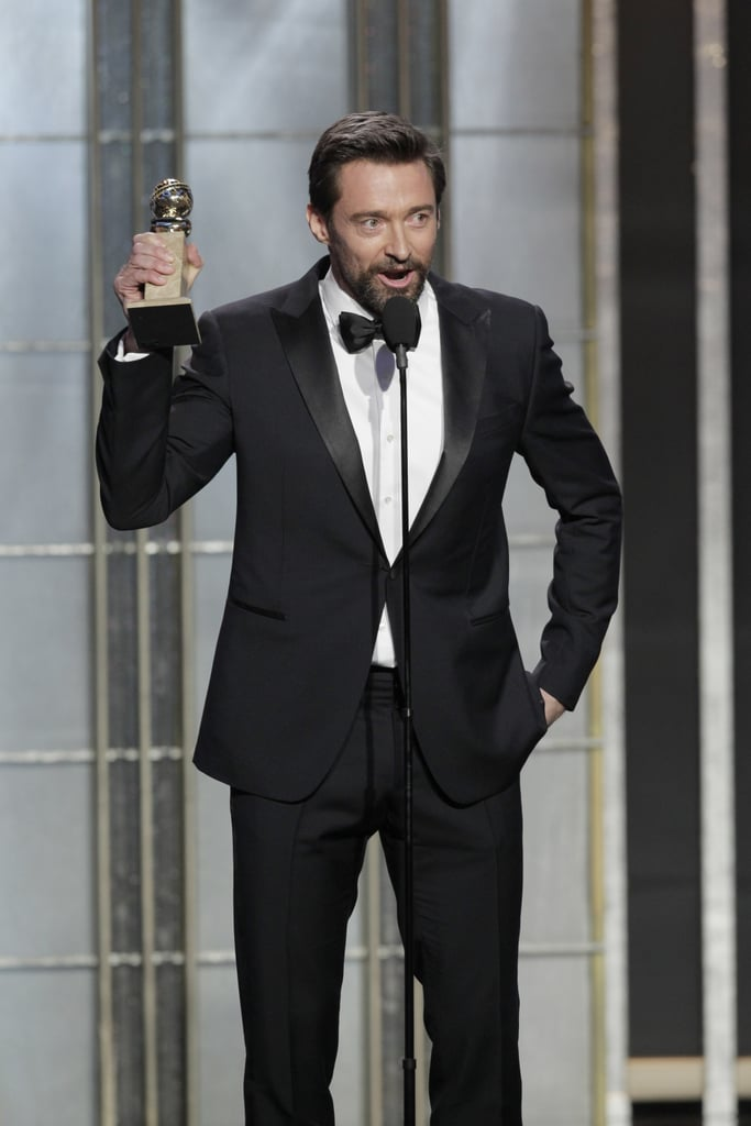 Hugh Jackman won best actor for motion picture, comedy or musical.