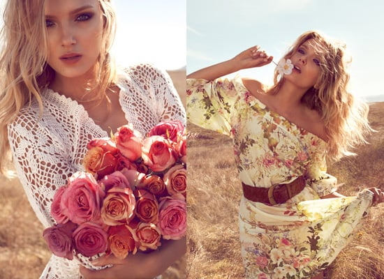 Photos of Lily Donaldson for Monsoon, Spring Summer 2011