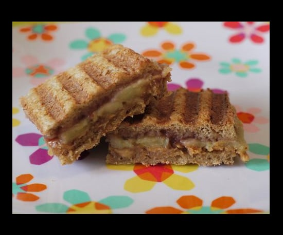 Peanut Butter and Jelly Panini