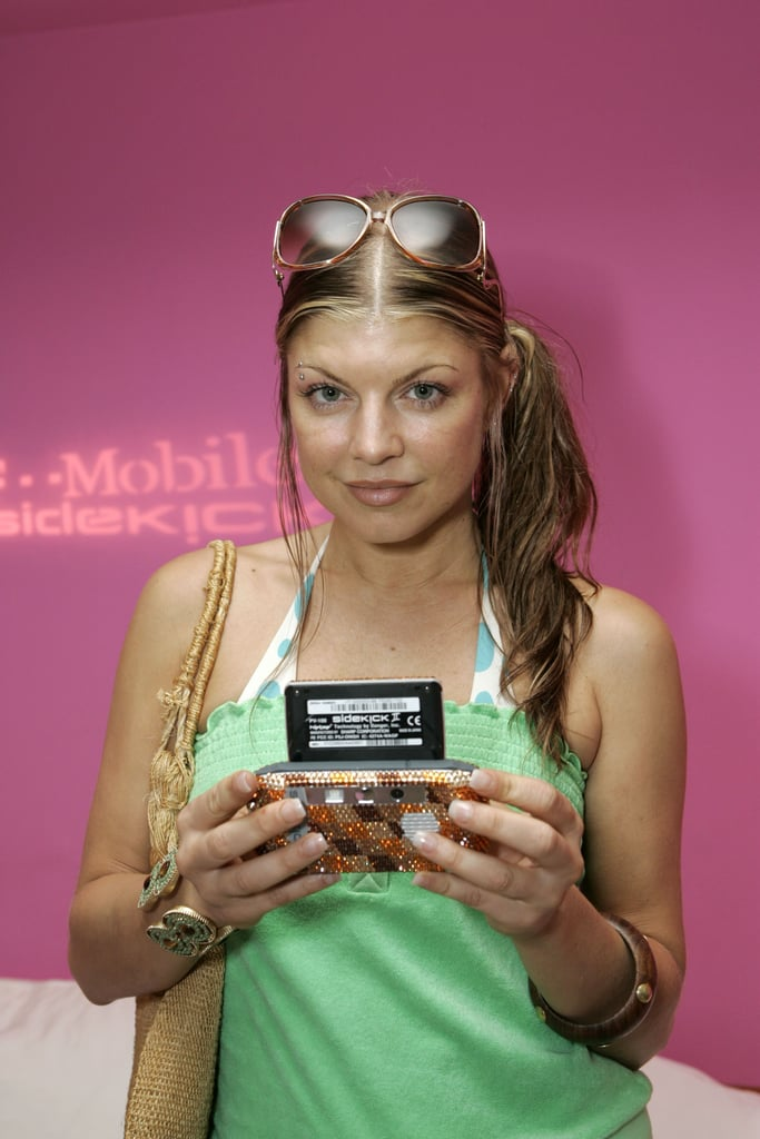 Anyone surprised Fergie had a bedazzled T-Mobile Sidekick II? No.