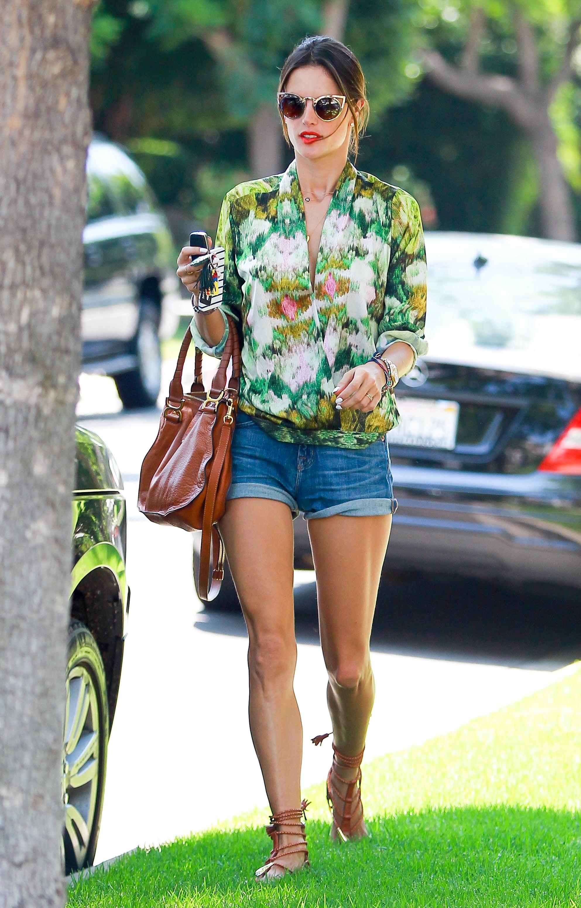 Alessandra ambrosio s street style 4 stars who make summer dressing