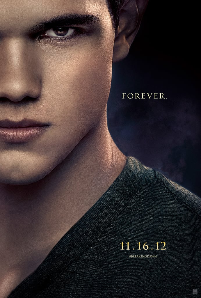 Taylor Lautner as Jacob in Breaking Dawn Part 2.