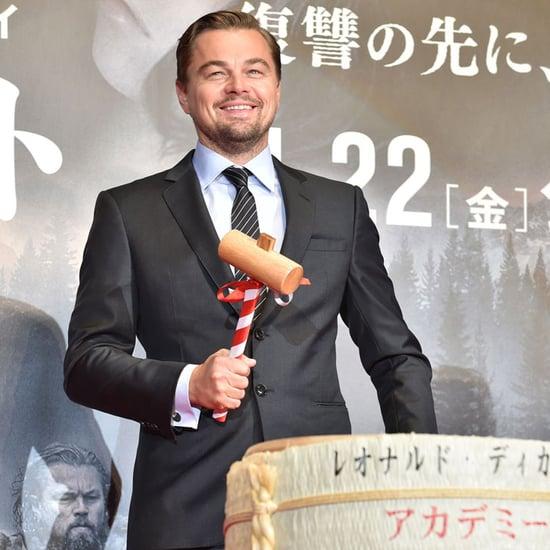 Leonardo DiCaprio at Tokyo Premiere of The Revenant Photos