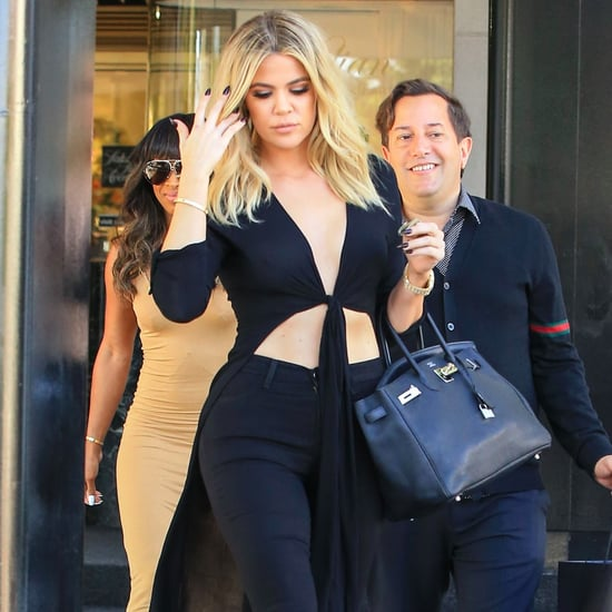 Khloe Kardashian Shopping in LA June 2016 Pictures