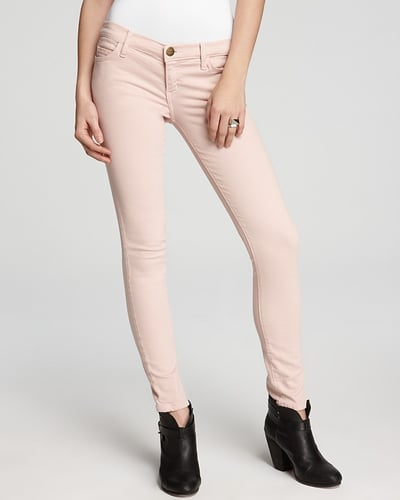 Current/Elliott Jeans - The Ankle Skinny Low Rise Jeans in Rose Smoke