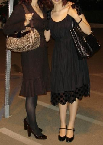 Look of the Day: Mother-Daughter Style