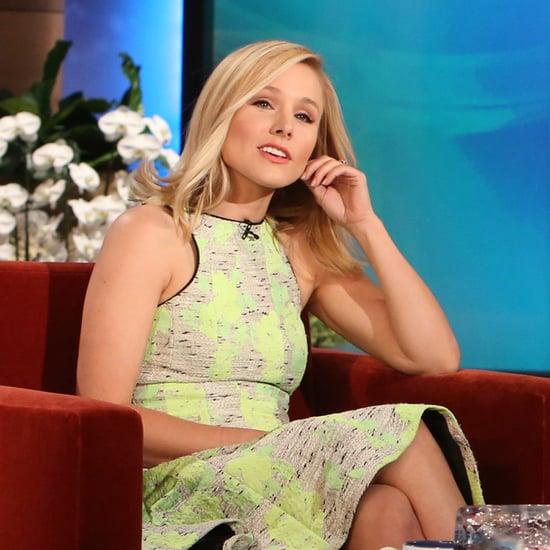 Kristen Bell Interview on Ellen | April 2014