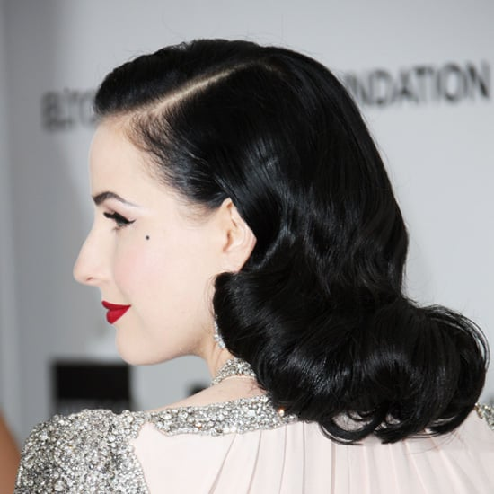 Dita Von Teese From the Side