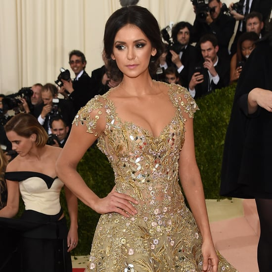 Nina Dobrev at the Met Gala 2016